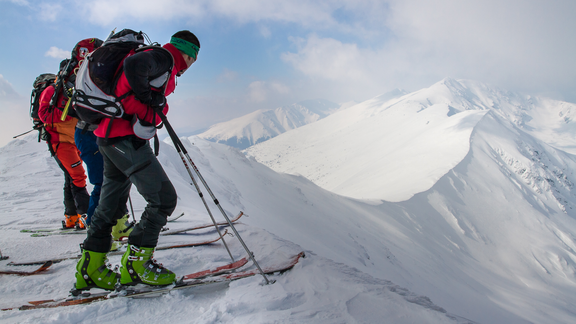Oboznamovacie skialpinistické kurzy