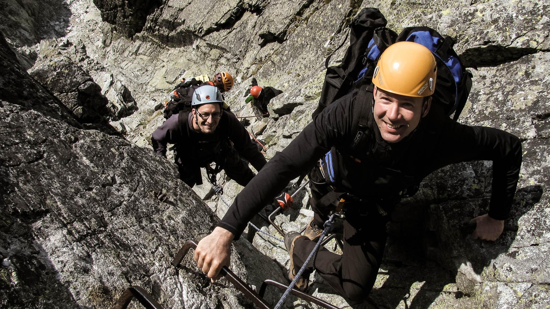 Výstup na Gerlach s horským vodcom