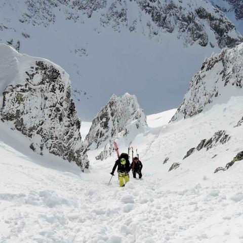 Skialp prechod Vysokých Tatier